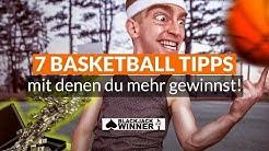 7 Basketball Wett-Tipps mit denen ihr mehr gewinnt 🏀 + 1 Bonus-Tipp, der es in sich hat!