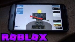 Playing Every Roblox Game On My Phone! (Phantom Forces Mobile)