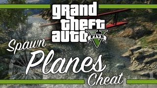 GTA V: All Spawn-able Planes Cheat Codes & Gameplay thumbnail
