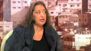 Zaha Hadid Talking About Challenges of Architecture