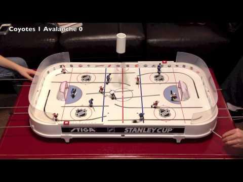 Stiga Hockey Game Coyotes Jeff vs. Avalanche Lindsay JeffreyQProductions
