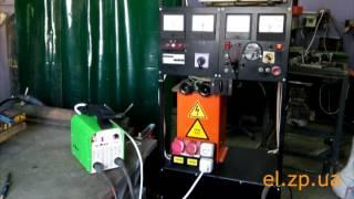 видео Профессиональный сварочный аппарат полуавтомат SSVA-270-P