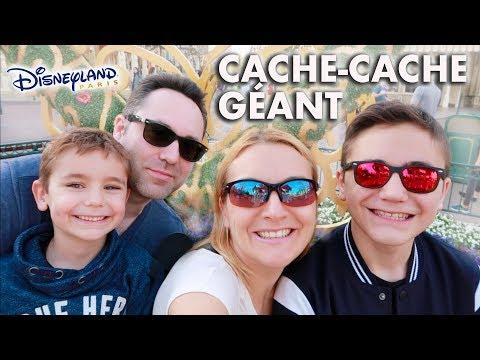 CACHE-CACHE GÉANT EN FAMILLE À DISNEYLAND !