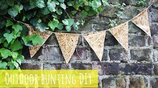 Outdoor Bunting Diy