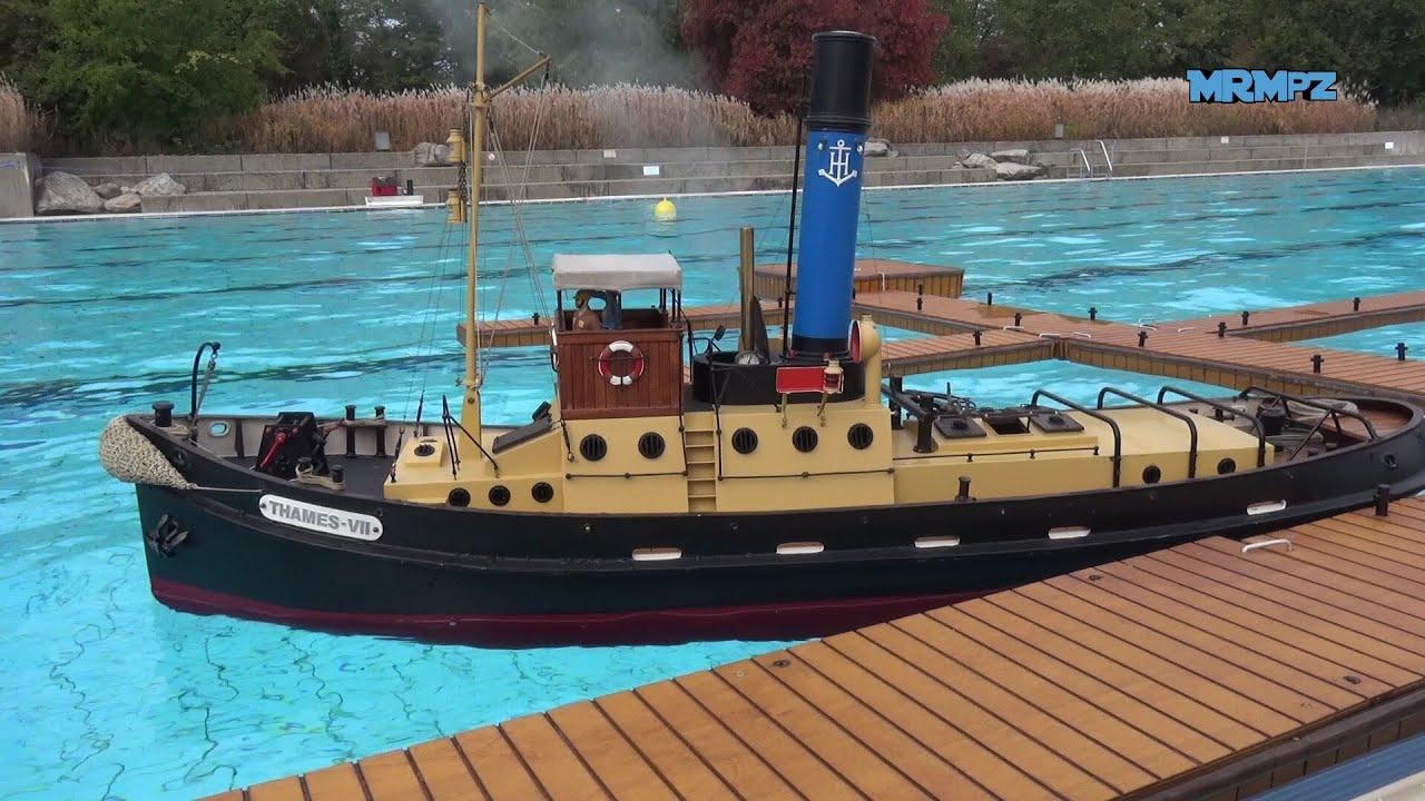 Rc Dampfschiff Thames Vii Modellschifftreffen Rheinfelden
