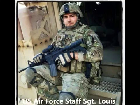 Tribute To Our Fallen Soldiers - US Air Force Staff Sgt. Louis M. Bonacasa, 31, of Coram, New York.