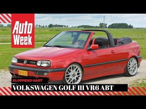 Volkswagen Golf III VR6 Cabriolet Abt - Kloppend Hart