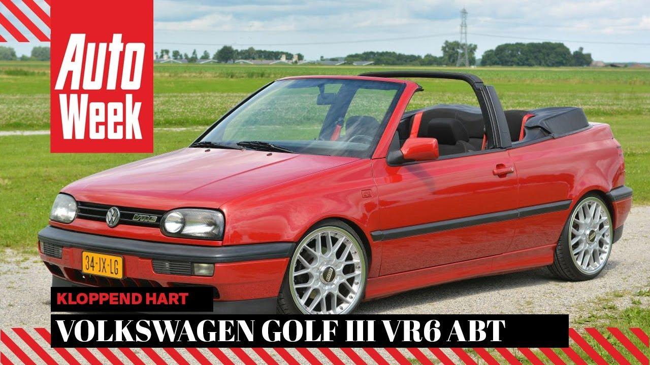 volkswagen golf iii vr6 cabriolet abt kloppend hart youtube. Black Bedroom Furniture Sets. Home Design Ideas