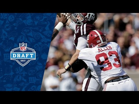 Jonathan Allen College Highlights & 2017 Draft Profile | NFL