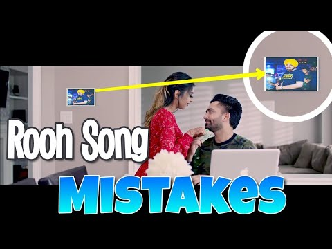 12 MISTAKES IN ROOH SONG BY SHARRY MANN |...