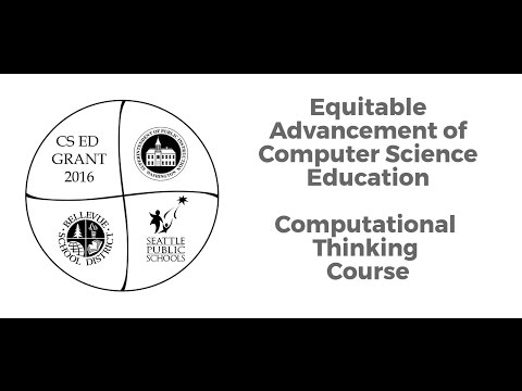 CS & CT College Student Perspective:  Computational Thinking Course for Educators K-8