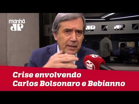Vamos ver se Governo consegue sair ileso da crise envolvendo Carlos e Bebianno | #MarcoAntonioVilla