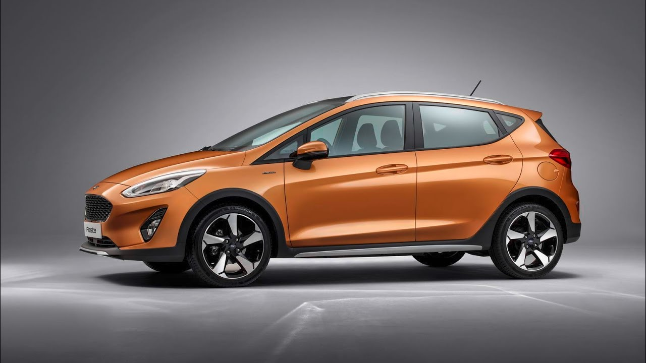 New 2017 ford fiesta active crossover in detail
