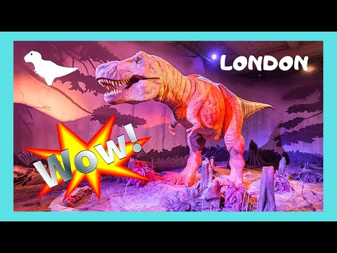 LONDON: The MUSEUM of NATURAL HISTORY, what to see in 2 hours, great exhibits