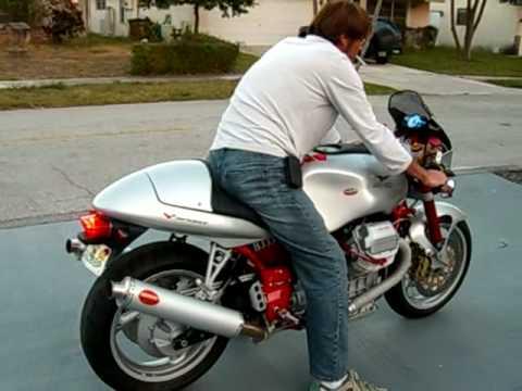 moto guzzi v11 sport - youtube