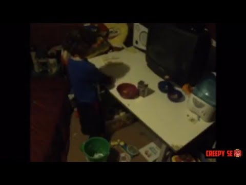 Poltergeist in Childs bedroom.Real Ghosts caught on Tape. Real Poltergeist Activity caught on video.
