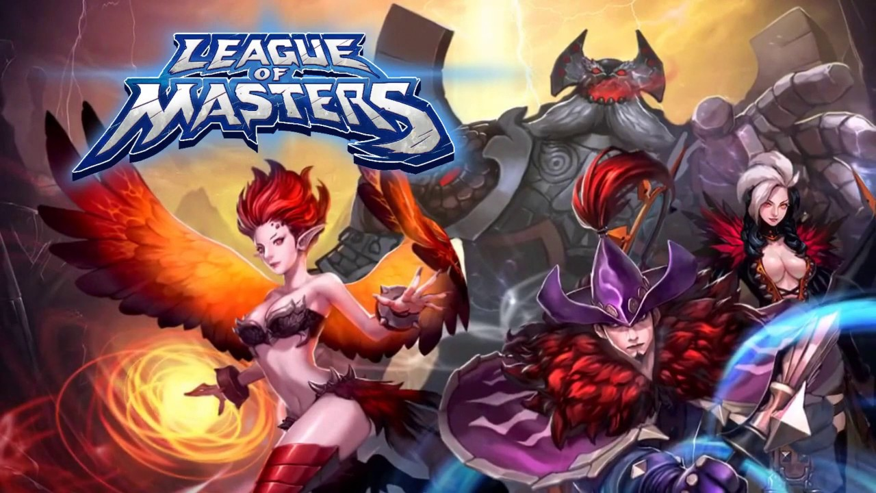 [Lunosoft] League of Masters: Legend PvP MOBA Korea