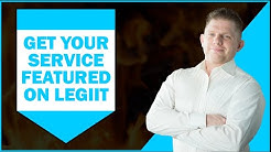Get Your Service Featured On Legiit
