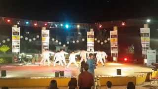 Gabbar mix dance choreography by Santosh & group SK