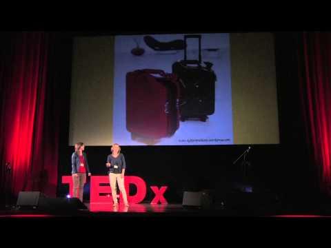 Spoleczne centrum odpadow 'zbiorka!': Emilia Gillner & Maria Lipiak at TEDxRawaRiver