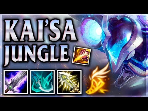 NEW CHAMPION KAI'SA! DAUGHTER OF THE VOID! Bullet Angel Kai'Sa Jungle - League of Legends Commentary