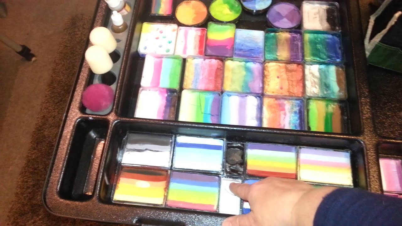 Craft n go face paint kit youtube sciox Images