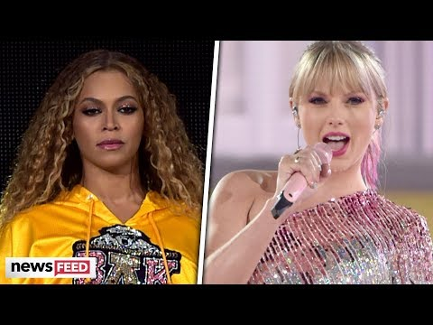 Marques - Taylor Swift Uses Beyoncé Idea as Hype for First Performance of New Song!