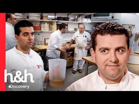 Los momentos más explosivos de Buddy en la pastelería! | Cake Boss | Discovery H&H