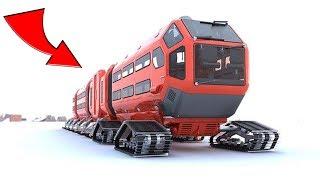4 Российских супер транспортных средств для Арктики