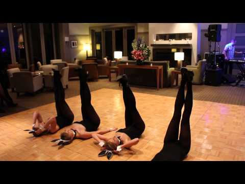 Playboy Bunny Dance to 'All That Jazz' - Nan's 80th Birthday Surprise