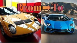 Lamborghini Journey 1960 to 2017 All Models.  Car guru