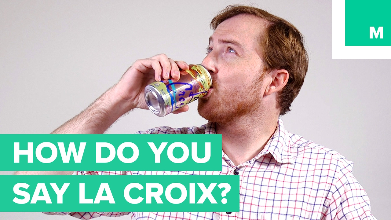 How Do You Pronounce La Croix  YouTube