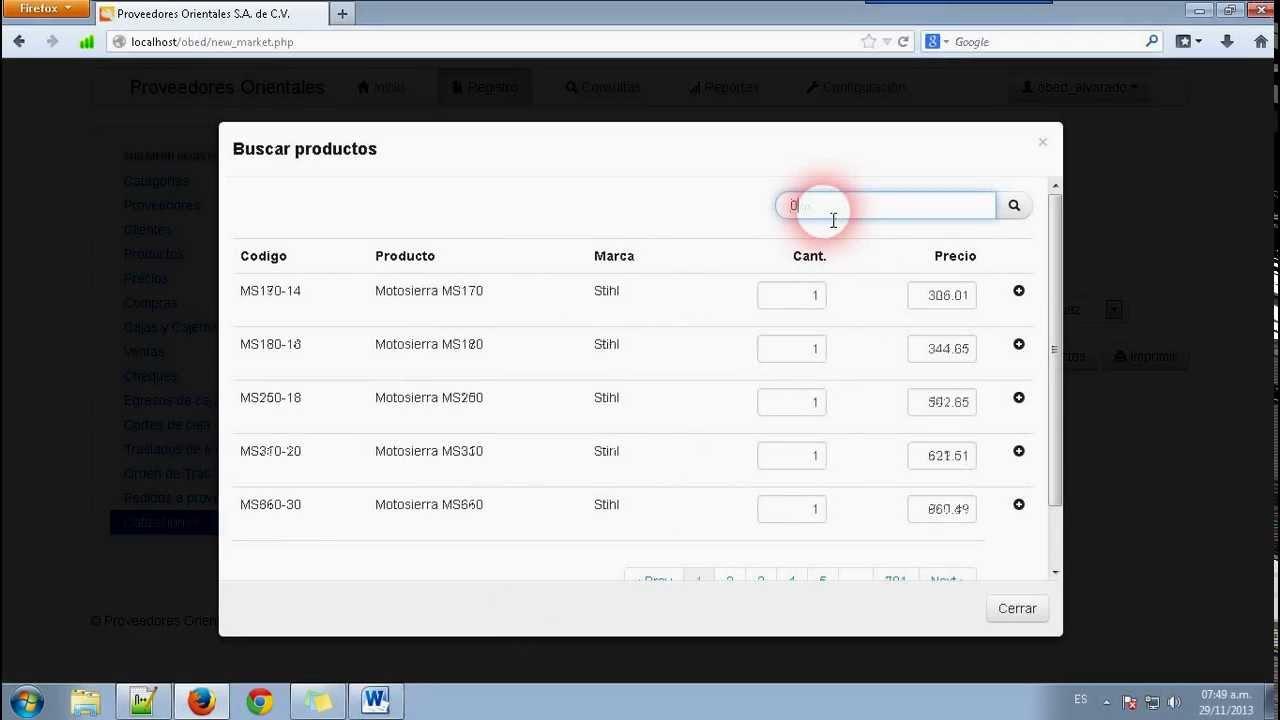 Sistema Web de Cotizaciones con PHP y MySQL - YouTube