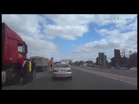 DashCam Lusaka Zambia Kafue Rd - 22nd May 2016