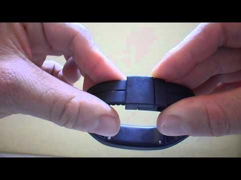 1ca3fe3166 Relógio Digital De Led E Pulseira De Silicone - YouTube