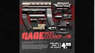 Payday 2: Gage mod Courier DLC