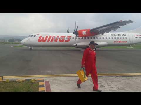 Wings Air ATR-72 Bandara Depati Parbo Kerinci