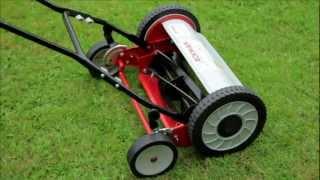 Eckman 3-in-1 Hand Push Lawn Mower, Scarifier & Aerator