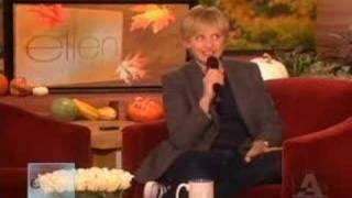 Ellen Degeneres singing