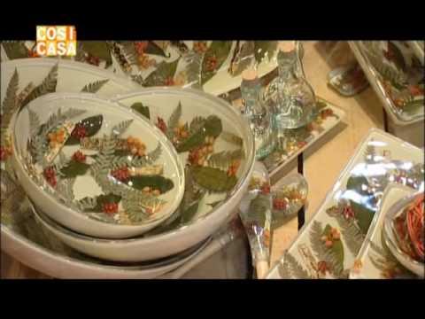 Oggettistica in resina con fiori secchi  YouTube