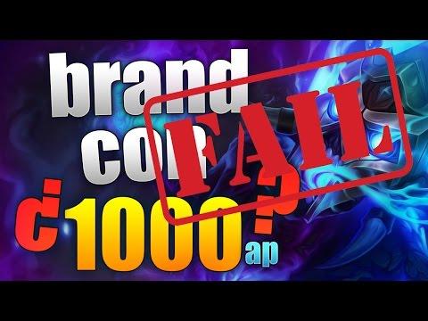 BRAND CON 1000 AP ! / league of legends / español