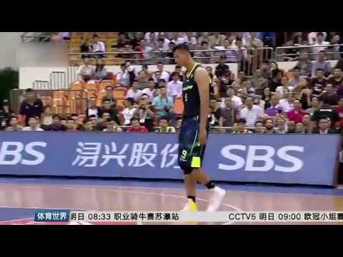Yi Jianlian takes off LINING Shoes and Leaves | Comes back with NIKE Shoes