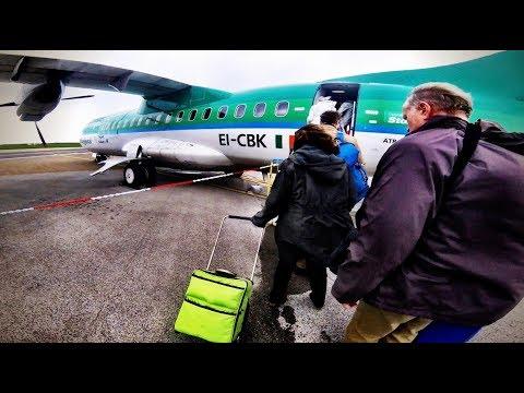 AER LINGUS REGIONAL (Stobart Air) ATR 42-300, Newquay/Cornwall to Dublin