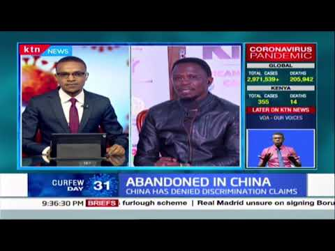 Abandoned in China: Kenyan government has been accused of being in a diplomatic slumber