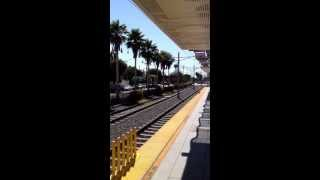 Metro Expo Line train to Downtown Los Angeles