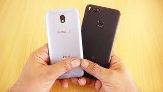 Galaxy J5 Pro vs Xiaomi A1 Speed Test [Urdu/Hindi]