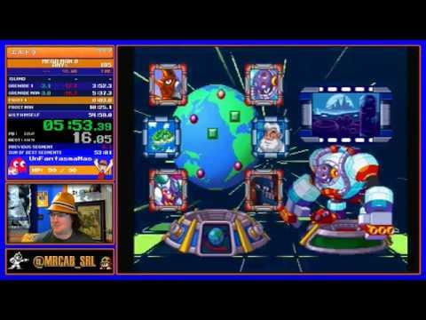 Mega Man 8 any% 54:40