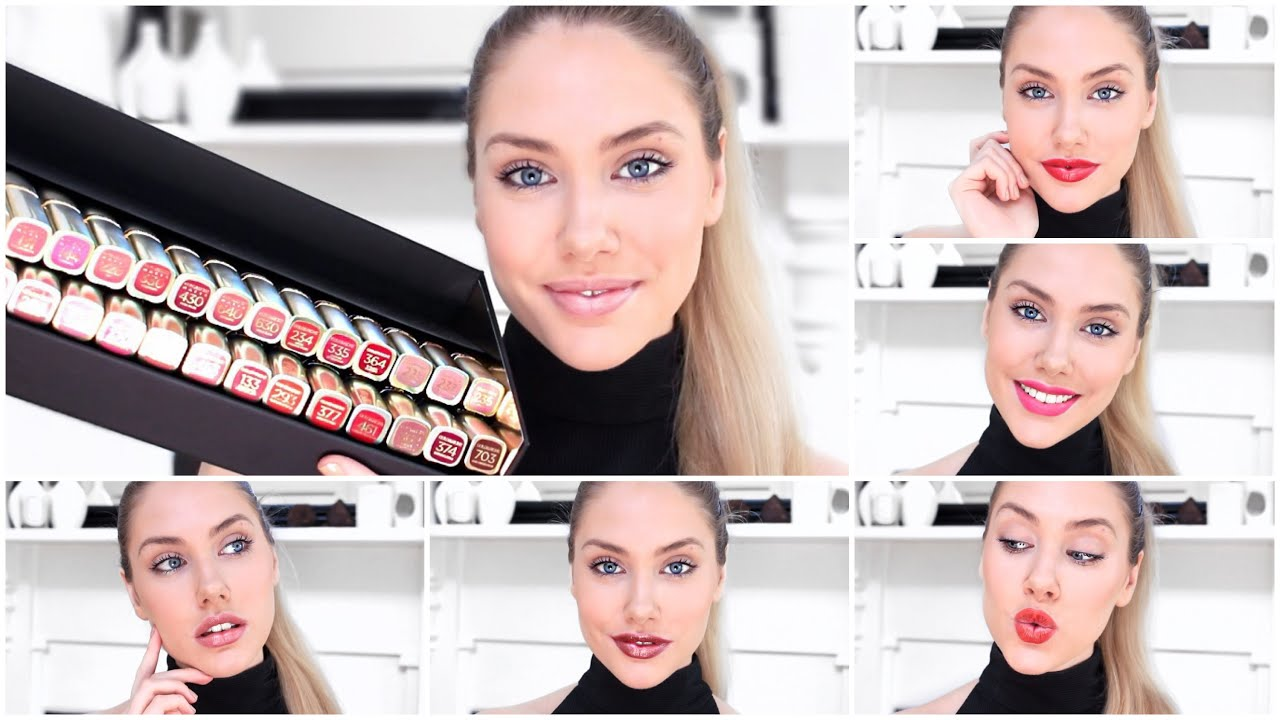 Loreal Color Riche Full Collection Swatches Try On Affordable