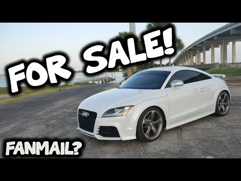 Selling My Audi TT RS! Fanmail? Motovlogs?