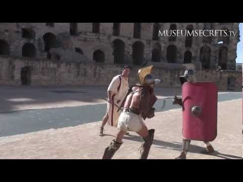 Recreating a Gladiator Battle at El D'jem Amphitheatre in Tunisia (Vlog)